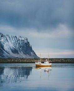 """""""Lofoten, Norway  By: @dansmoe Follow our snapchat! Mittnorge """""""