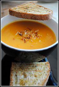 Liana's Blog: Supa crema de morcovi Thai Red Curry, Ethnic Recipes, Blog, Custard, Food, Blogging