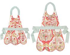 Mother/Daughter Aprons. Adorable.