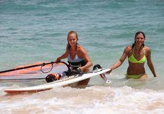Windsurfing Sessions at Kanaha Beach Maui Hawaii www.actionsportsmaui.com