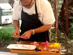 Spring Chef Challenge at Your Life A to Z: Chef James