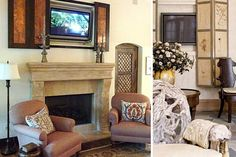 Blend Your TV Into Your Decor - Shelterpop