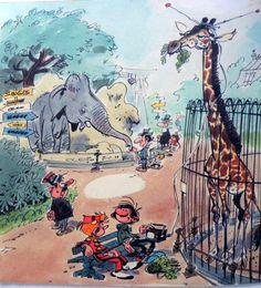 Gaston Lagaffe Spirou by Franquin