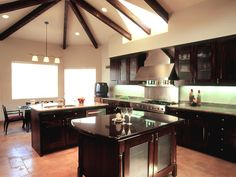 love everything from the kitchen to the amazing ceilings!