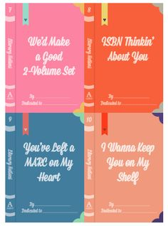 20 Literary Valentine's Day Cards for Bookish Hearts - Literary Notions Valentines by ABDO
