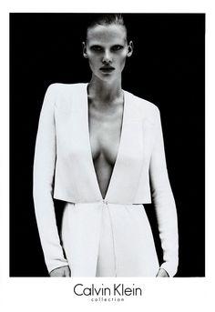 Photographers: Mert Alas and Marcus PiggottModel: Lara StoneWhy we love it: A beautiful pared down Lara is the ultimate reflection of Calvin Klein's chic minimalism.   - HarpersBAZAAR.com