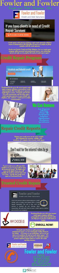 A reputable #credit repair company. http://www.slideshare.net/fowlerandfowler/a-reputable-credit-repair-company