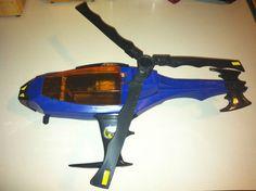 Vintage Kenner Super Powers Batcopter 1986 1987 Batman