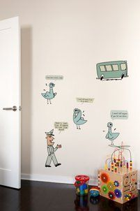 Don't Let the Pigeon Drive the Bus Wall Decals