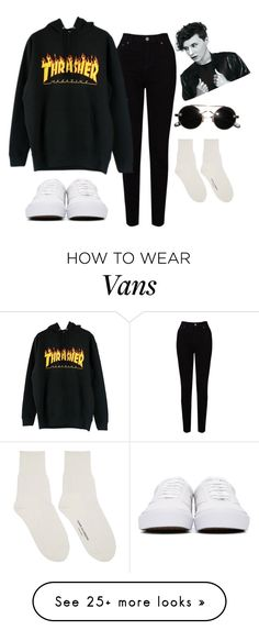 """Untitled #382"" by saltyshores on Polyvore featuring EAST, Comme des Garçons and Vans"