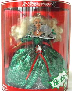1995 Holiday Barbie - She is available at a great price.  Seriously, I think she is worth so much more!