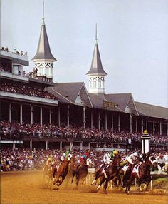 Horse Racing; love it!!