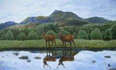 Scottish Highlands by Liz Hilton