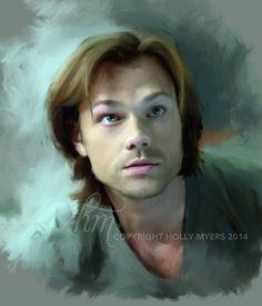 Sam Winchester Supernatural by hollymyers.deviantart.com on @DeviantArt