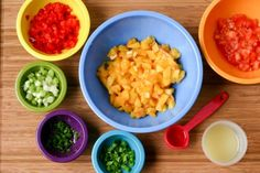 Tangy Peach Salsa by Eat, Play, Love
