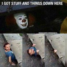 a8dd054a73514ac0dc688f037beb0c67 the 25 best 'it' sewer clown memes inverse funny fails