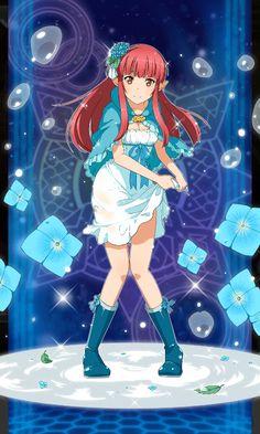 Sword Art Online Memory Defrag - [Raindrops Girl] Rain
