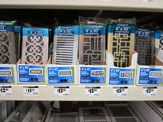 decorative vent covers? who knew lol