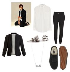 """""""Louis Tomlinson Girl version*o*"""" by katyojitos ❤ liked on Polyvore featuring beauty, T By Alexander Wang, VILA, Vans and Style Tryst"""