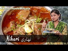 Bazar Jesi NIHARI banae ab Ghar ke bane masale se | How to make Nihari at home | Traditional method - YouTube Indian Designer Outfits, Bane, Homemade, Dishes, Traditional, Drinks, Youtube, Recipes, Food