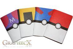Fan-made Pokemon Pokeball Greatball Ultraball par Graphecx sur Etsy