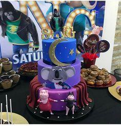 2 Birthday Cake, 6th Birthday Parties, Birthday Ideas, Sing Cake, Sing Movie, Movie Cakes, Cupcake Party, First Birthdays, Party Ideas