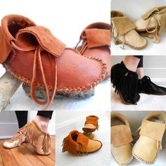 Handmade Moccasins https://www.etsy.com/listing/225893474/short-moccasins-traditional-native?ref=shop_home_active_3