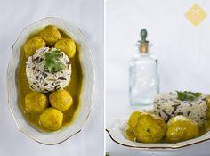 #Albóndigas de pavo en #salsa de almendra y curry www.Delicatessendiferentes.blogspot.com.es/