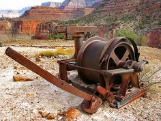(Posted from cncmachinings.com)  Check out these rapid machining China services images: Abandoned mining equipment – Horseshoe Mesa – Grand Canyon – South Rim  Image by Al_HikesAZ The National Park Service has left some of the mining equipment for the Last Chance Mine on Horseshoe Mesa.  I went on a 4 day 3...  Read more on http://www.cncmachinings.com/nice-rapid-machining-china-services-photos/