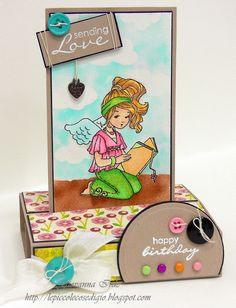 Whiff of Joy - Tutorials & Inspiration: Pop Up card by Giò