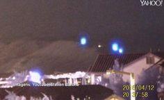 LAS VEGAS - Caçador de Alienígenas Flagra Suposto Pouso de OVNIS na Área 51?