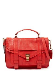 Proenza Schouler PS1 Medium Satchel Bag in Mandarin