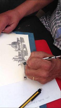 Artistas de Florença: Ivan José Cirigliano e seus desenhos a lápis de Florença veja mais em http://viagenseturismo.me/passeios-na-toscana/artistas-de-florenca-ivan-jose-cirigliano-e-seus-desenhos-a-lapis-de-florenca