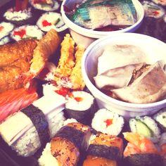 Oryza Sushi, Aberdeen Aberdeen, Fresh Rolls, Sushi, Scotland, Ethnic Recipes, Food, Meal, Eten, Meals