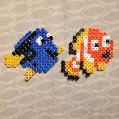 Finding Nemo perler beads by  bbcaakes