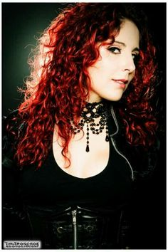 Marcela bovio of Stream of passion band.