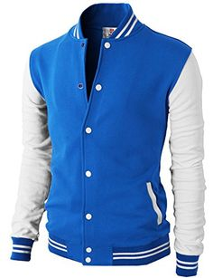 H2H Mens Slim Fit Varsity Baseball Jacket BLUE US M/Asia ... https://www.amazon.com/dp/B00SUTO2S4/ref=cm_sw_r_pi_dp_x_Izg7xbNH2M39K
