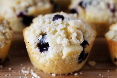 Blueberry Pie Muffin!