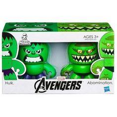 Marvel Avengers Hulk & Abomination Mini Muggs Vinyl Figure Hasbro NIB NIP