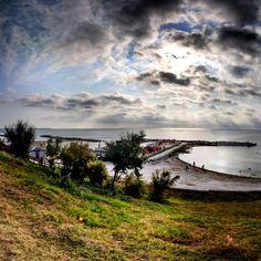 #clouds #sea #blacksea #shore #beach #bay #Romania