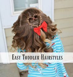 Easy Toddler Hairstyles, your source for hair ideas and tips for toddlers and girls!