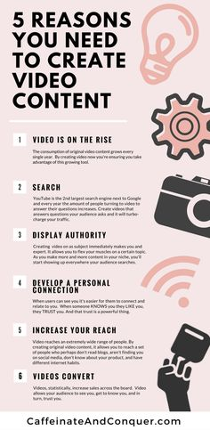 Top 5 Reasons You Need to be Creating Video Content for Your Business