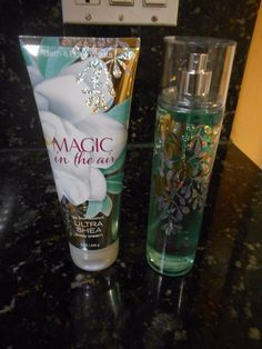 Bath & Body Works Magic in The Air Fragrance Mist 8 oz + Ultra Shea Body Cream! #BathandBodyWorks