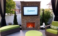 Not all patios need a Sunbrite weatherproof TV.  But if there is any chance to exposure (rain), you definitely want to be protected.