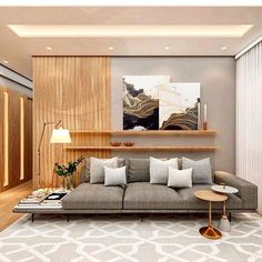 Living Room Colors: 51 Ideas to Transform Yours in 2020 – Typical Miracle Beige Living Rooms, Living Room Colors, Small Living Rooms, Home Living Room, Living Room Designs, Living Room Decor, London Living Room, Modern Home Interior Design, Apartment Interior