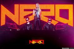 I chose Nero because they are my favorite band. The type of music they make is pop/dubstep