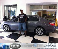 #HappyBirthday to Rodney Jefferson from Russell Wilson at Fenton Honda of Longview!