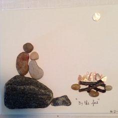Pebble Art by Denise Gray