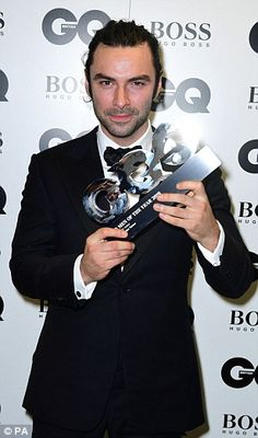 And the winners are... Aidan Turner was rewarded for his endeavors on the BBC's…
