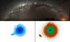 Forget earthquakes, astronomers discover signs of huge GALAXY quakes in the Milky Way and they could help us find dark matter | Astronomers have discovered the cause of gas ripples in the Milky Way | They say a dwarf galaxy skimmed our own a few hundred million years ago | This created galactic seismic waves in the gas in our galaxy's outer disk | The dwarf galaxy was packed with mysterious dark matter, they say[Space Future: http://futuristicnews.com/category/future-space/]